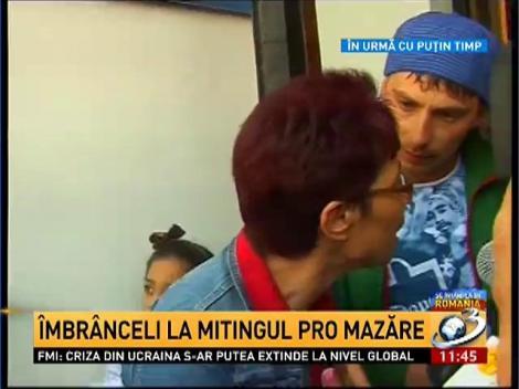 Incidente la mitingul de susţinere pentru Radu Mazăre de la Constanţa