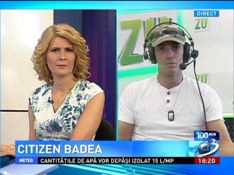 Mircea Badea pariu cu Boc pe un şut cu şpiţu în TESTICULE!