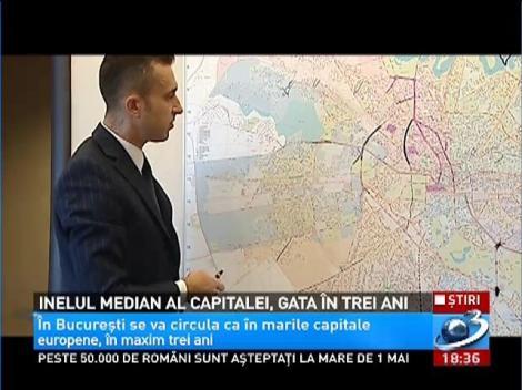 Inelul median al Capitalei, gata în trei ani