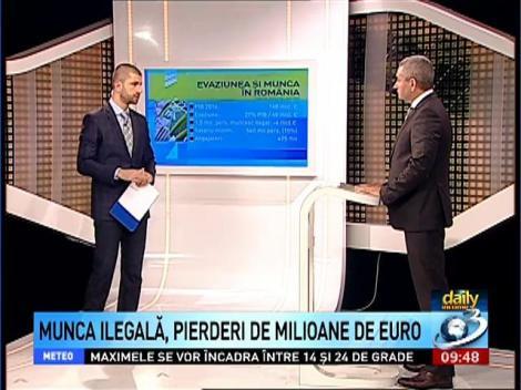 Daily Income: Nicu Marcu, despre evaziunea şi munca în România