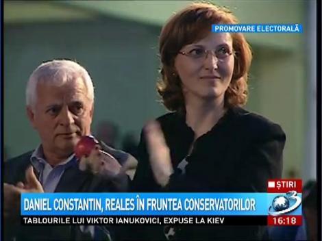 Daniel Constantin, reales presedintele Partidului Conservator