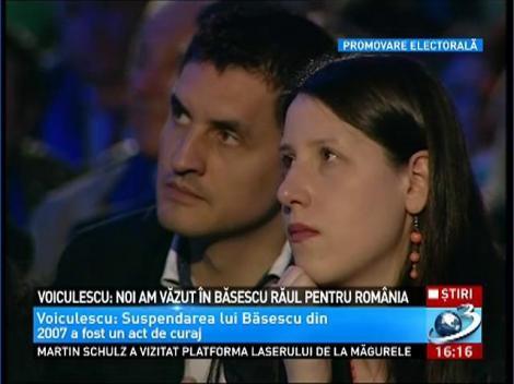 Dan Voiculescu: Noi am vazut in Basescu raul pentru Romania