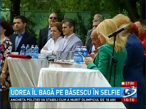 """Elena Udrea, """"SELFIE"""" cu Traian Băsescu"""