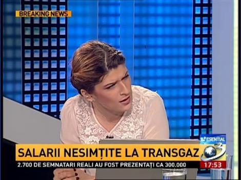 Salarii şi bonusuri de zeci de mii de euro la Transgaz