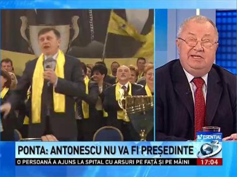 Esenţial: Ce sfat are avocatul Sergiu Andon pentru Ponta