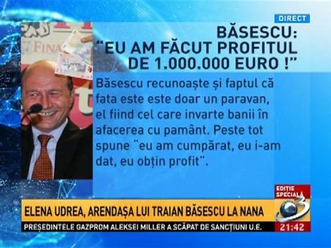 Sinteza Zilei: Cum a ajuns Băsescu să facă profit de 1.000.000 de euro într-un an