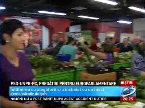 PSD-UNPR-PC, pregatiri pregatiri pentru europarlamentare