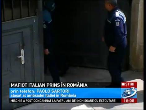 Un mafiot italian a fost prins in Romania