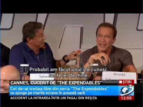 Imagini amuzante de la Cannes cu Sylevester Stallone