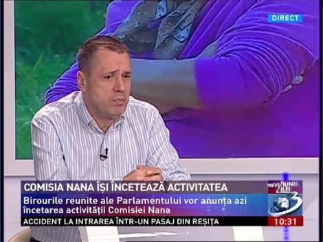 Mugur Ciuvică: Nu văd de ce raportul de la Nana ar trebui să rămână secret