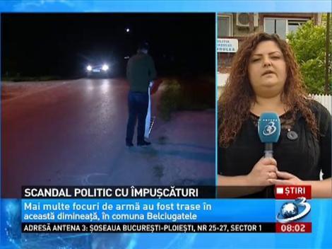 Răfuială cu ÎMPUŞCĂTURI la Belciugatele, în numele campaniei electorale