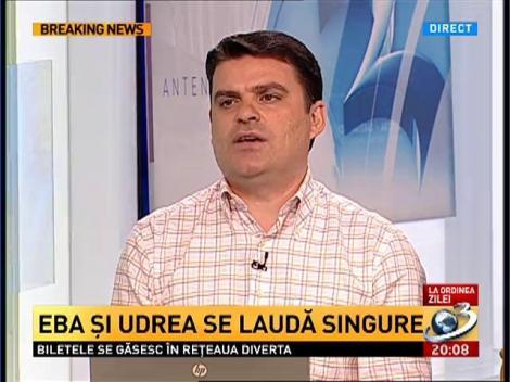 Radu Tudor: Alianta Antonescu-Blaga are scopul dea il pune pe Basescu prim-ministru