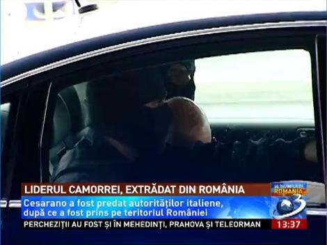 Liderul Camorrei, extrădat din România