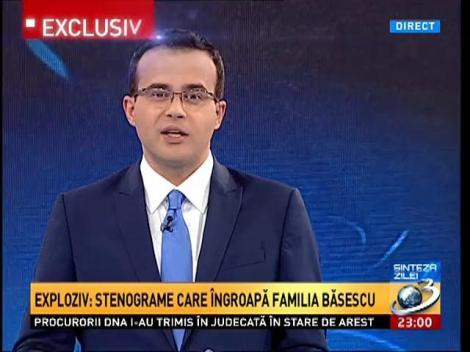 Sinteza Zilei: Noi stenograme realiyate de Mircea Băsescu cu DNA