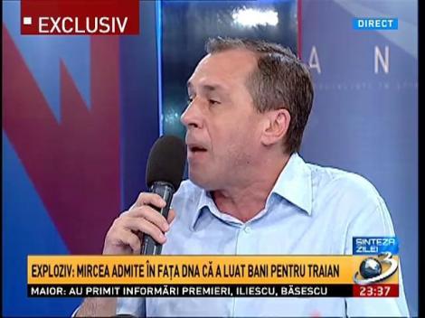 Sinteza Zilei: Traian Băsescu trimite un răspuns la dezvăluirile făcute de Mihai Gâdea
