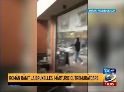 """Mărturia cutremurătoare a unuia dintre cei patru români răniți la Bruxelles: """"Când ne îndreptam spre ieșire a explodat a doua bombă"""""""