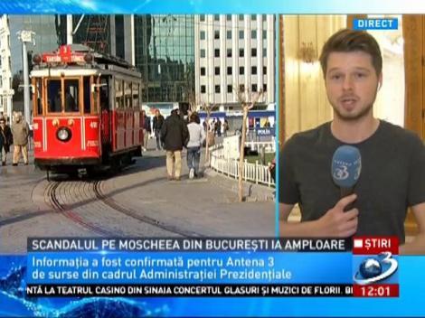 """Moscheea de la București va fi construită: """"Oferă mai multe garanții de securitate"""". BOR vrea hotel la Istanbul"""