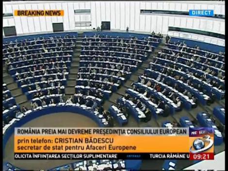 România preia mai devreme președinția Consiliului European, după ce Marea Britanie a renunțat