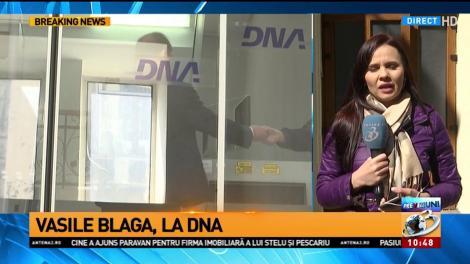 Vasile Blaga, la DNA