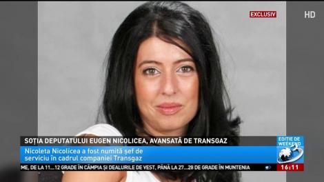 Soția deputatului PSD Eugen Nicolicea a fost avansată la Transgaz