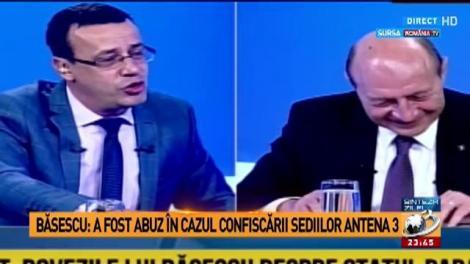 Mircea Badea, pasa din Sinteza Zilei: Badea prezintă o declaraţie halucinantă a fostului preledinte Traian Băsescu