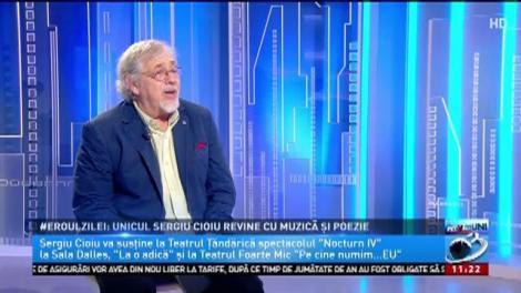 Eroul zilei: Unicul Sergiu Cioiu revine cu muzică și poezie
