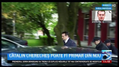 Cătălin Cherecheș poate fi din nou primar. Edilul din Baia Mare a stat în arest pentru luare de mită