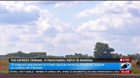 15 imigranți pakistanezi ar fi fost răpiți pe teritoriul României, susține un cotidian din Pakistan