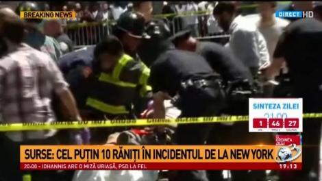 O maşină a intrat în mulţime în New York, cel puţin o persoană a murit şi 13 au fost rănite