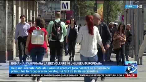România, campioană la dezvoltare în Uniunea Europeană
