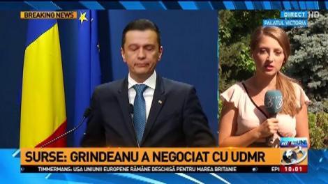 Surse: Premierul Grindeanu a negociat cu UDMR. Reacția maghiarilor