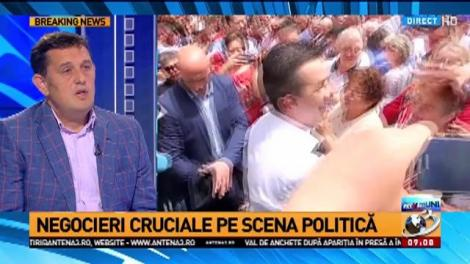 Gheorghe Piperea, despre UDMR, marele câștigător al crizei PSD contra PSD