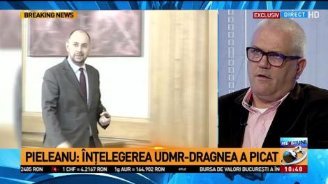 Marius Pieleanu: Înțelegerea UDMR-Dragnea a picat
