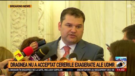 Declarații UDMR la Parlament: Proiectul pentru ziua de 15 martie a fost retras