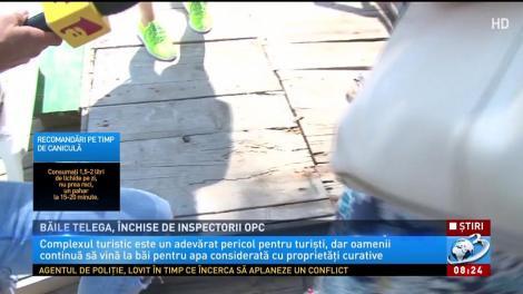 Băile Telega, închise de inspectorii OPC
