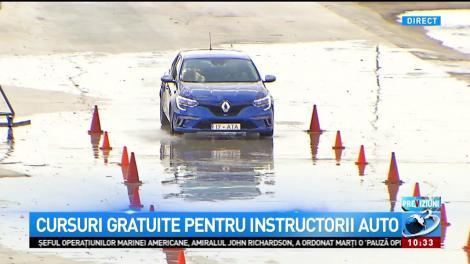 Cursuri gratuite pentru instructorii auto