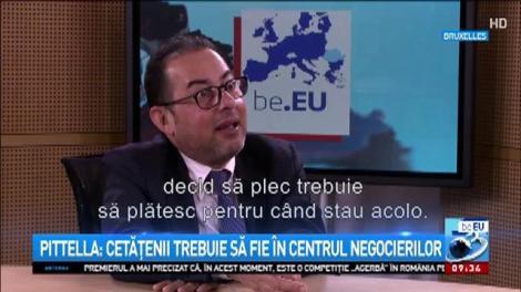 Șeful grupului socialiștilor din PE, Gianni Pittella, susține intrarea României în Schengen