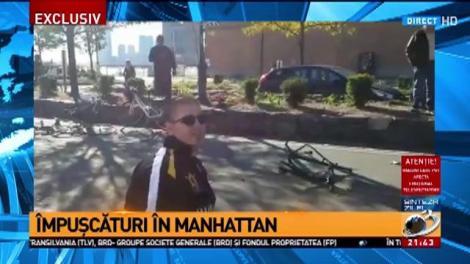 Împușcături la New York, în Manhattan. Sunt mai multe victime