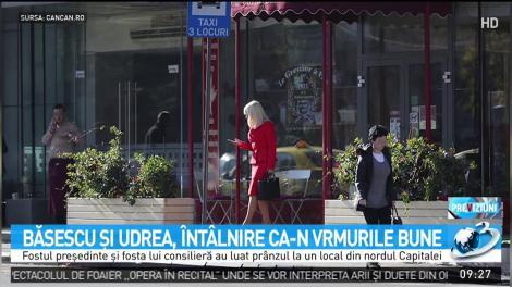 Băsescu și Udrea, întâlnire ca-n vremurile bune. Unde au fost surprinși cei doi politicieni