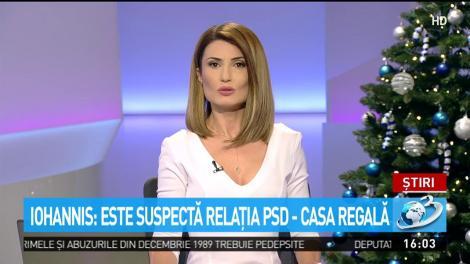 Iohannis: Este suspectă relația PSD-Casa Regală