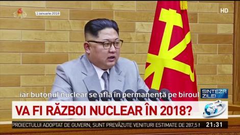 Va fi război nuclear în 2018? Relaţiile dintre SUA şi Coreea de Nord, mai încordate că niciodată