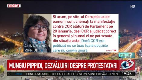 "Alina Mungiu Pippidi: ""Mercenarii Gold, în frunte. Manipulează la greu"""