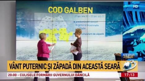 Vremea o ia razna. Cele mai noi date despre iarna care va lovi România. ANM a făcut anunțul!