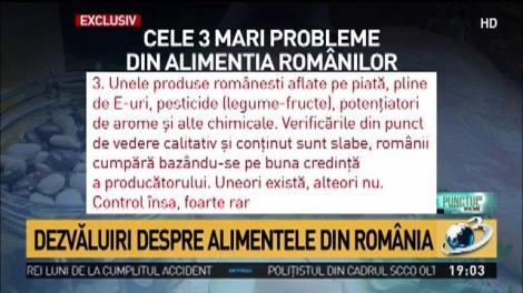 Dezvăluiri despre alimentele din România. Tone de importuri de fructe și legume toxice, pericol real pentru sănătate