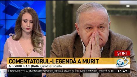 """Ovidiu Ioanițoaia, mesaj emoționant! """"Vocea lui Cristian Țopescu a rămas întipărită în memoria unui întreg popor"""""""