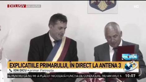 Culmea AROGANTEI! Un primar din România şi-a acordat SINGUR titlul de Cetăţean de Onoare al comunei. Drept cadou a primit şi un... teren pentru casă!