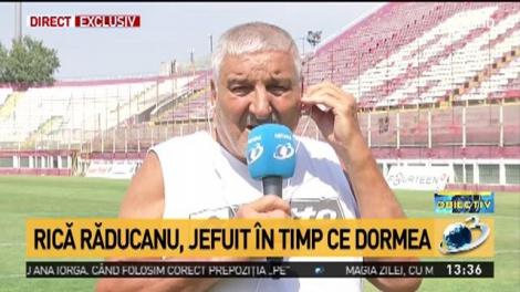 """Rică Răducanu, noi detalii despre hoții care l-au jefuit: """"Nu mai pot să dorm, nu mi s-a întâmplat niciodată așa ceva!"""""""