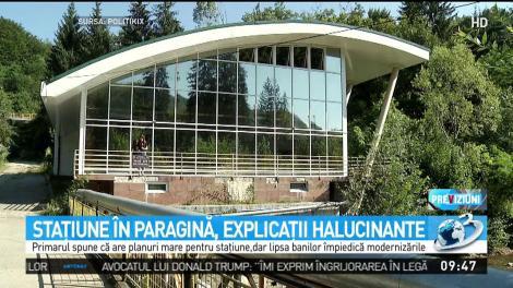 """De ce a ajuns stațiunea Băile Olănești în paragină! Explicațiile halucinante ale primarului: """"Oamenii răi..."""""""