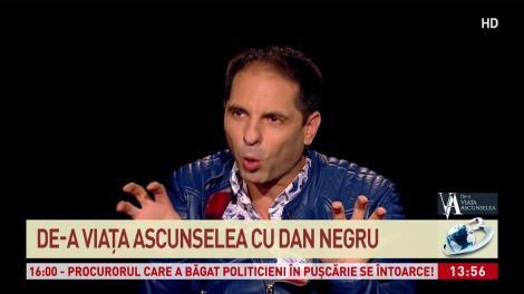 """Misterul a fost deslușit! Dan Negru dezvăluie de unde a pornit """"țipătul"""" din timpul emisiunilor : """"Am rămas cu urlatul"""""""