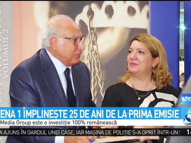 """Dan Voiculescu, mesaj emoționant, la 25 de ani de Antena 1! """"Grupul a fost construit să reziste la furtuni şi uragane"""""""